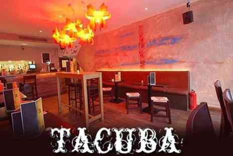 Tacuba - Three Courses of Authentic Mexican Food For Two Plus Choice of Drink Each - Save 63%