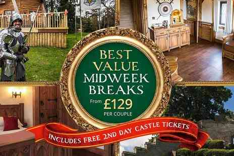 Holiday Extras - Warwick Castle Midweek Breaks Escape on a Historical Family Adventure - Save 0%