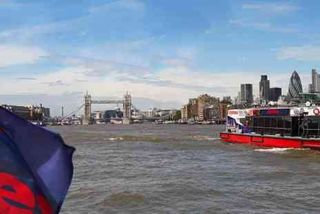 City Cruises - Thames River Cruise Pass, Buy and Go and See the City Your Way - Save 30%