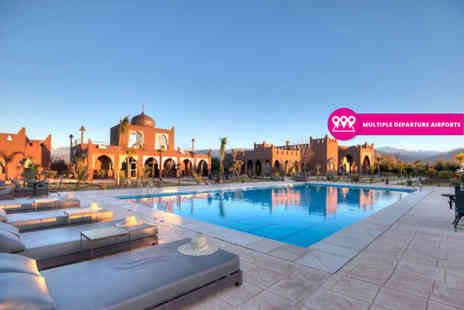 Via Holiday - Two, three or five night 5 Star Marrakech spa stay with breakfast and return flights - Save 37%