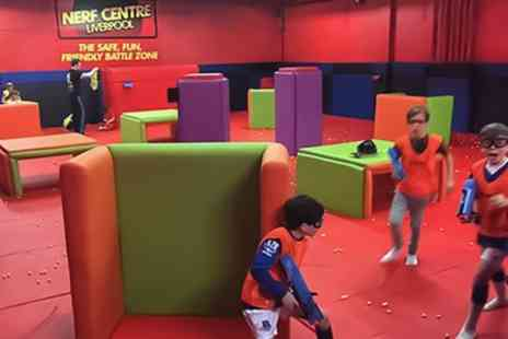 Nerf Center Liverpool - One Hour Nerf Session for Up to Six - Save 50%