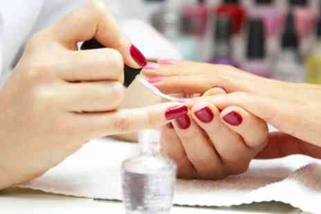 Shonnies Beauty Cabin - Gel Manicure or Pedicure or Both - Save 40%