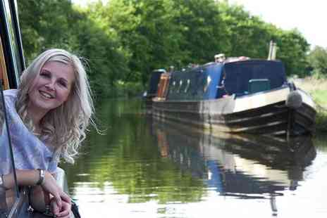 Lancashire Canal Cruises - 90 minute canal cruise for one person with afternoon tea and a glass of wine - Save 0%