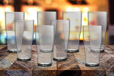 CNC Group - Virtually unbreakable tulip pint glasses - Save 0%