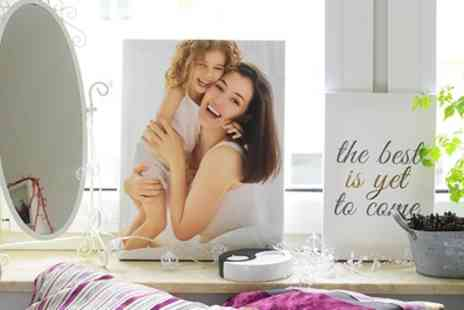 Colorland - One or Two Personalised Photo Canvases in Choice of Size - Save 80%