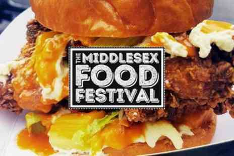 All in One Events - Two entry tickets to Middlesex Food Festival on 14 July - Save 29%
