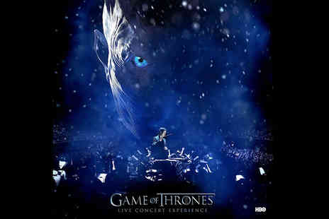 Live Nation - Ticket to the Game of Thrones Live Concert Experience featuring composer Ramin Djawadi in Glasgow, Manchester or London choose from four band tiers - Save 40%