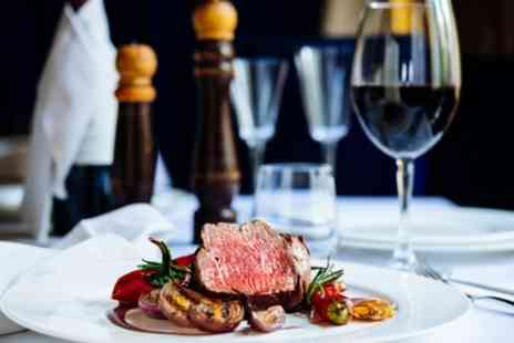 The Caeffatri - Steak Meal with Wine for Two or Four - Save 39%