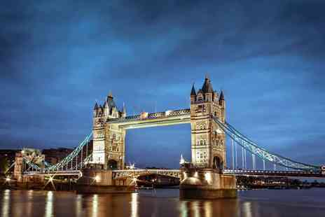 OMGhotels.com - Overnight stay in a 3 star hotel with breakfast, ticket to the Tower Bridge Exhibition and a two course dinner - Save 43%