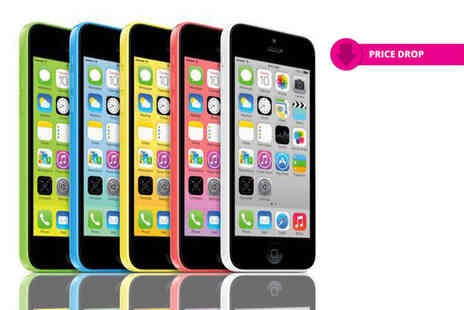 Renew Electronics - Refurbished 8GB Apple iPhone 5c, 16GB choose from five colours - Save 61%