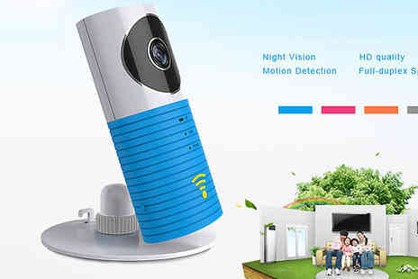 Jaoyeh - Miniature Wi-Fi Monitor and Camera Choose 2 Colours - Save 74%