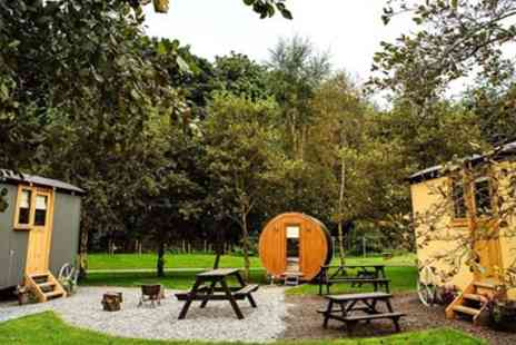 Samlesbury Hall - Luxury shepherds hut stay for 4 - Save 0%