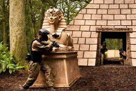 Horizon Paintball - Paintballing day for up to 10 people including 100 balls each and a light lunch at over 30 UK locations - Save 95%