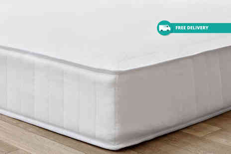 Trusleep - Hypoallergenic memory spring mattress choose from six sizes plus Delivery is Include - Save 0%