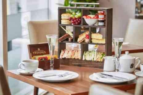 Hilton Garden Inn Bristol City Centre - Afternoon Tea for Two or Four with Optional Prosecco - Save 31%