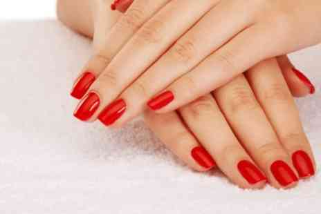 Perfectly Precise - Shellac Manicure, Pedicure or Both - Save 70%