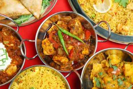 Tandoori Mahal Restaurant - Two Course Indian Meal for Two or Four - Save 32%