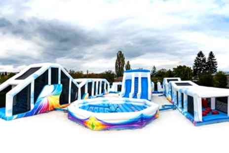 Cloud 9 - One or Two Hour Inflatable Fun Park Entry for Up to Four - Save 46%