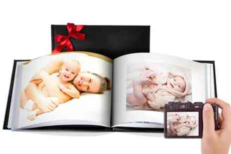 Printerpix - Up to Three Personalised Leather Photobooks in a Choice of Size - Save 89%