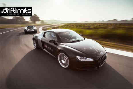 Drift Limits - 90 minute Audi R8 driving experience - Save 50%