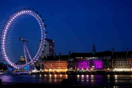 OMGhotels - Three or Four Star Stay, Breakfast with London Eye and River Cruise - Save 0%