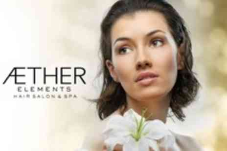 Aether Elements Hair Salon and Spa - One Hour Facial With Mini Makeover - Save 68%