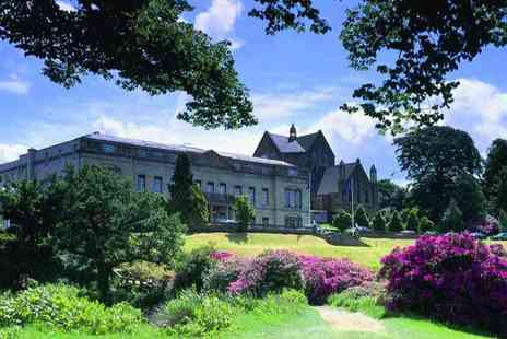 Shrigley Hall Hotel - Overnight stay for two people with three course dinner, Prosecco, breakfast and spa treatment - Save 36%