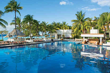Dreams Sands Cancun Resort & Spa - Four Star 7 night All Inclusive Paradise Resort & Optional 3 Night Yucatan Tour For Two - Save 73%