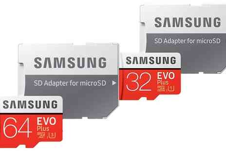 Raion - Samsung EVO+ MicroSDHC/XC Card with Adapter With Free Delivery - Save 0%