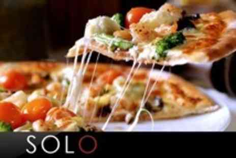 Solo - Two Course Italian Meal For Two With Prosecco - Save 61%