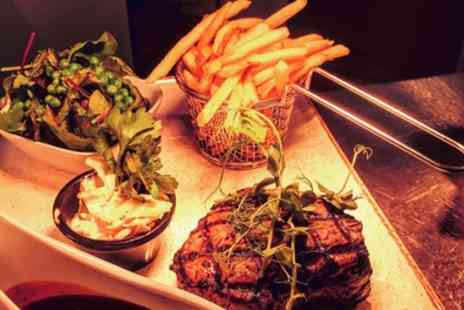 The Weston - Steak Dinner with One Bottle of Wine for Two or Two Bottles of Wine for Four - Save 40%