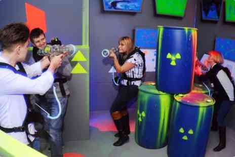 Superbowl - Laser Quest Birthday Party Package for 10 Children - Save 30%