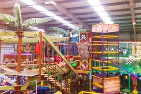 Mister Twisters Wacky World of Fun - 90 Minute Soft Play for Two or Four - Save 38%