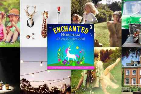 Food Rocks - Ticket to Enchanted Family Festival for Music, Performers, Illuminated Gardens, Family Fun and More Plus Kids Go Free - Save 25%