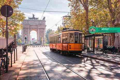 Via Holiday - Two or three night Milan mini break with breakfast and return flights - Save 43%