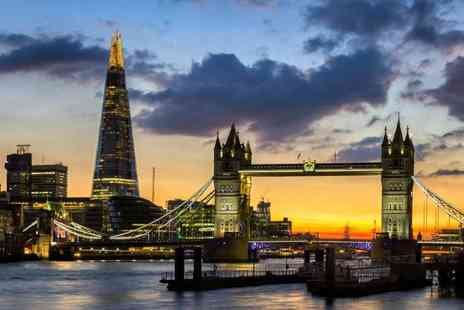 Thames Party Boats - Four hour Thames party boat cruise departing from Tower Pier Sat 30th June or Westminster Pier Sat 21st July or Sat 22nd Sept - Save 40%