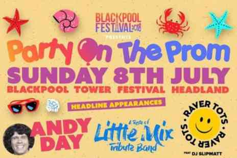 Blackpool Festival - One child or adult ticket to Party On The Prom on 8 July - Save 29%