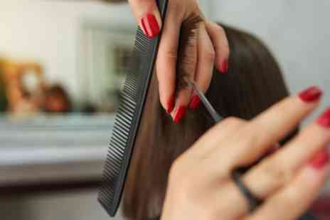 Roo Salon - Wash, Cut and Blow Dry with Optional Half Head Highlights or Full Head Colour - Save 30%