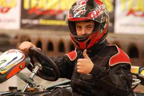Teamworks Karting Head office - 30 Minutes of Go Kart Racing for Up to Four - Save 54%