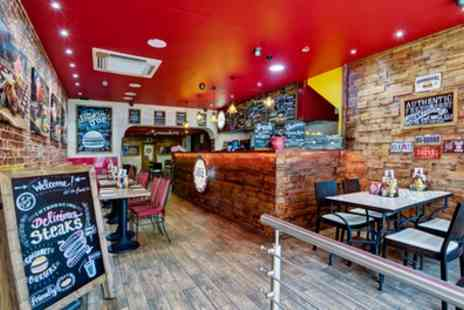 Joe and Co Burgers - Angus or Veg Burger, Fries and Drink for One, Two or Four - Save 51%