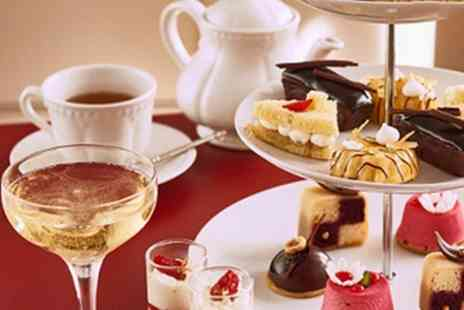 R Chocolate London - Chocolate Afternoon Tea with Champagne for One or Two - Save 51%