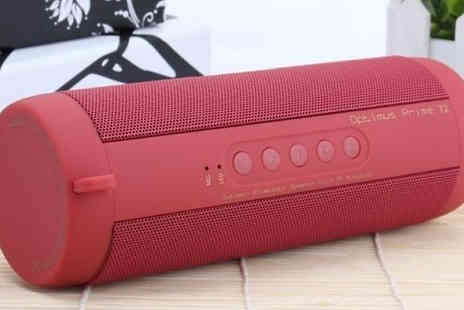 HXT Goods - Waterproof Outdoor HIFI Wireless Bluetooth Speaker Available in 4 Colours - Save 67%