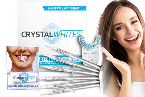 Crystal Whites - Advanced teeth whitening kit - Save 74%