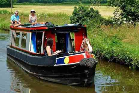 Norbury Wharf - Weekday one day narrow boat hire for up to 10 people on the Shropshire Union Canal - Save 44%