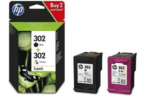 Raion - HP 302 2 pack Black and Tri Colour Ink Cartridges Combo With Free Delivery - Save 0%