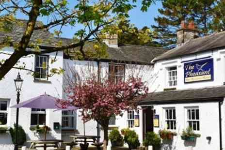 The Pheasant Inn - AA Rosette 2 course meal for 2 - Save 45%