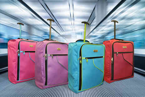 Pearl Info - Choice of cabin luggage choose from four colours - Save 76%