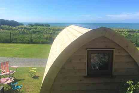 Hendre Hall Glamping - Two, Three or Five Night Glamping Pod Stay for Three - Save 0%