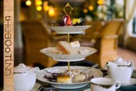 The Boot Inn - Rustic Afternoon Tea For Four With Liqueur Coffee Each - Save 66%