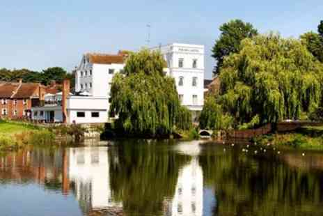 The Mill Hotel - Suffolk water mill stay with dinner - Save 44%
